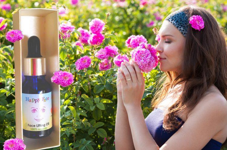 organic anti rimpel creme rozenolie aromatherapie