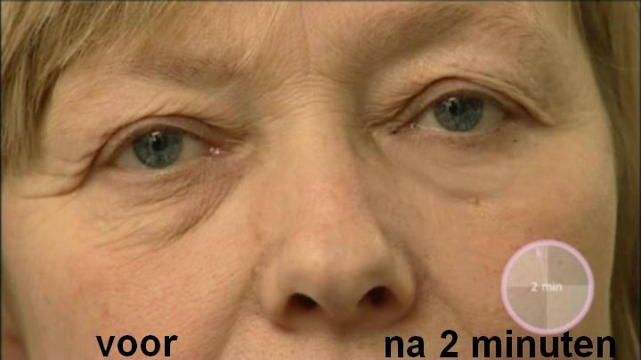 Wrinkle Stop Eye effect